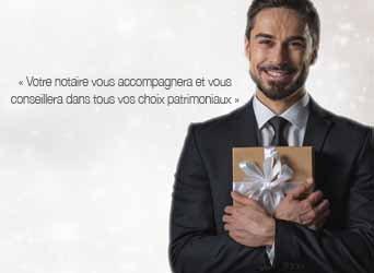 Mariage - Immobilier - Donation... Trouvez vos cadeaux chez votre notaire !