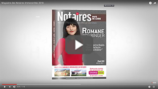 Magazine des Notaires & immonot de Mai 2018