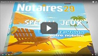 Magazine des Notaires & Immonot Juillet 2018