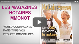 Magazines Notaires - immonot - novembre 2018