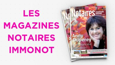 Magazines Notaires - immonot - janvier 2019
