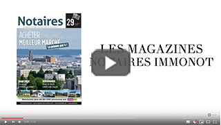 Magazines Notaires - immonot - avril 2019