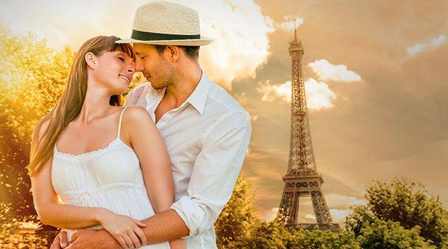 Paris et Biarritz, villes les plus romantiques !