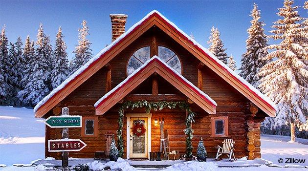 Le Père Noël vend sa maison