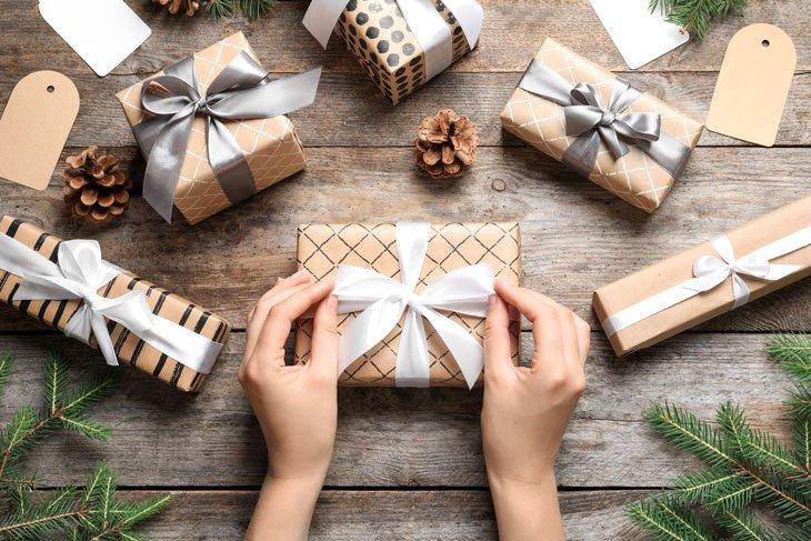 Emballages cadeaux : zéro déchet