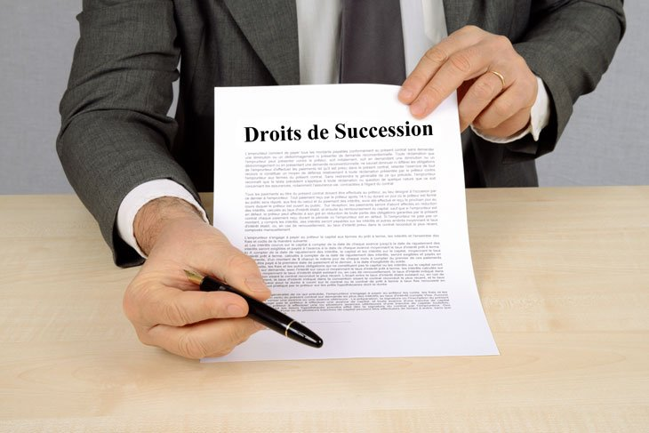 Droits de succession - Taux de 1,3 % pour payer à crédit
