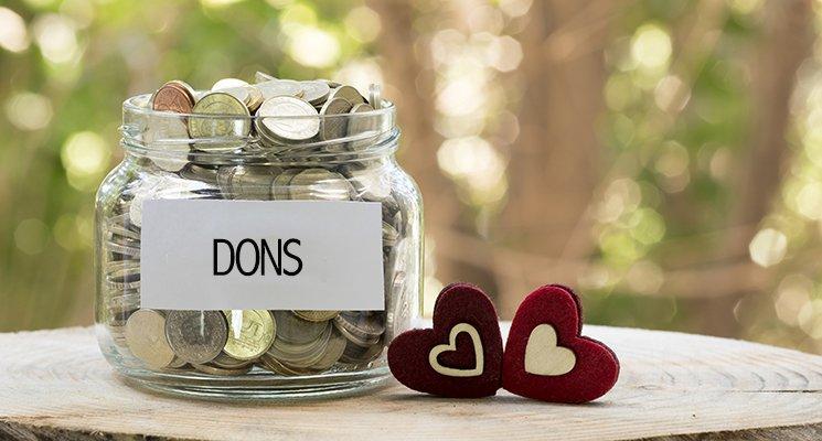 Don aux associations - Exonération d'impôt en hausse