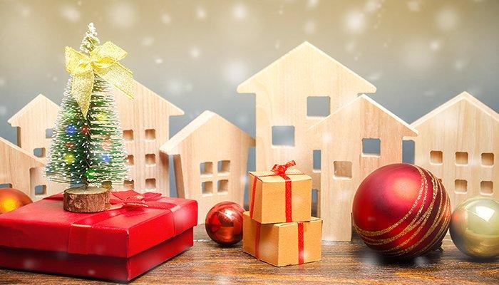 Un beau Noël immobilier - Une locataire gâtée par son bailleur