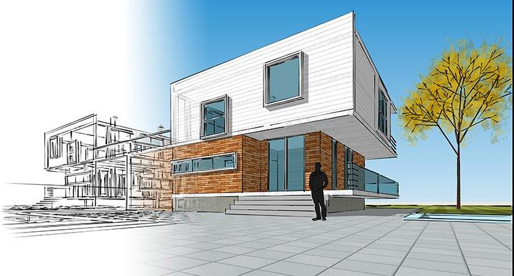 Les premières maisons 3D en vente