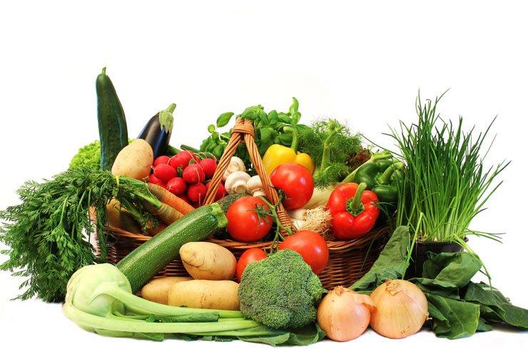 Des légumes croquants pour l'été