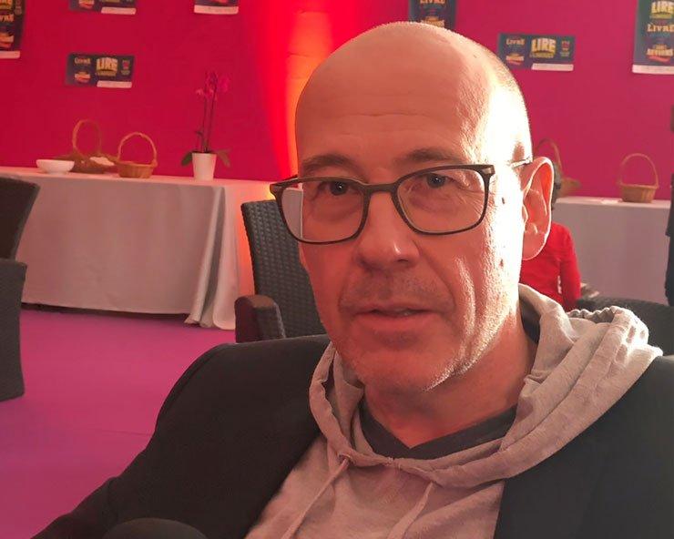 Interview Francis MÉTIVIER - Des larmes qui en disent long...