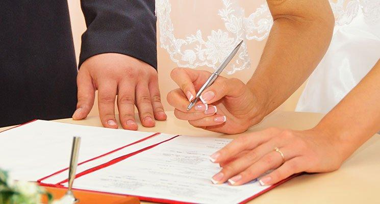Trouvez le contrat de mariage qu'il vous faut