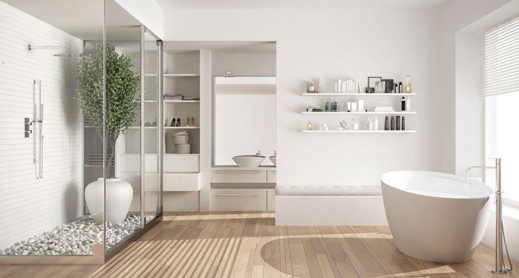 Salle de bains - Plus accessible pour un bon maintien à domicile