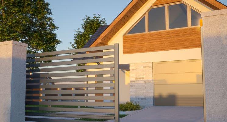 Quand portails et clôtures habillent votre propriété