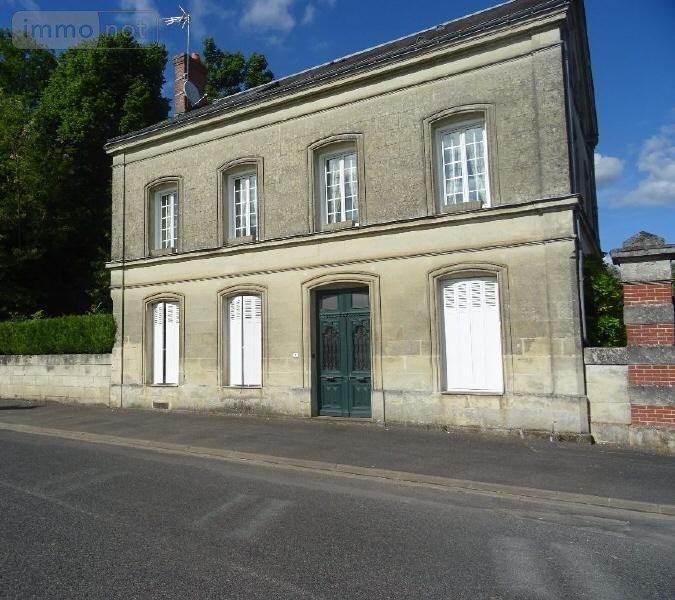 A Vendre Maison Romainville 110 M: Maison à Vendre Saint-Paterne-Racan 37370 Indre-et-Loire