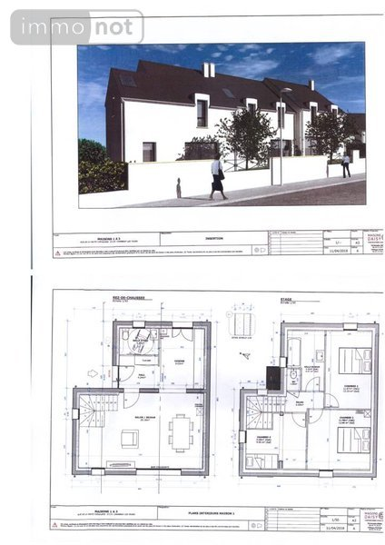 Achat maison a vendre chambray l s tours 37170 indre et for Achat maison neuve