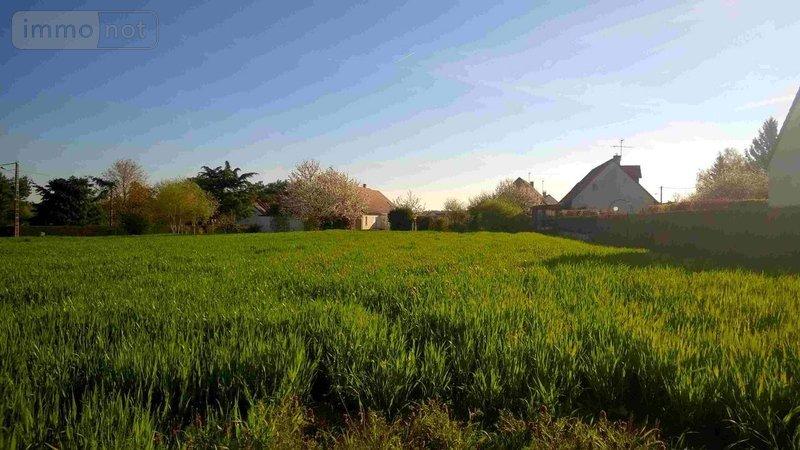 terrain batir vendre ouchamps 41120 loir et cher 967 m2 43600 euros