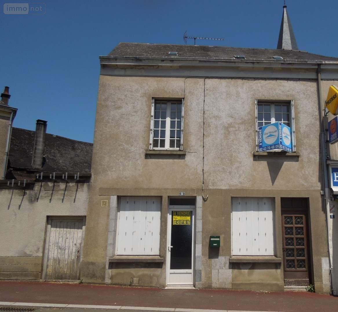 A Vendre Maison Romainville 110 M: Maison à Vendre Grez-en-Bouère 53290 Mayenne