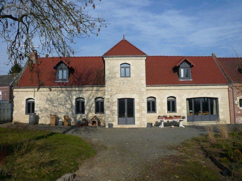 achat maison a vendre s ranvillers forenville 59400 nord 196 m2 7 pi ces 310372 euros. Black Bedroom Furniture Sets. Home Design Ideas