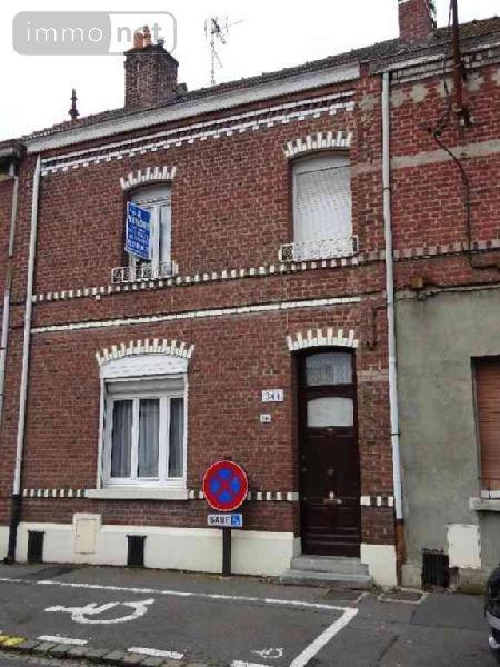 Achat maison a vendre sin le noble 59450 nord 140 m2 7 for Garage aixam sin le noble