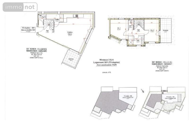 plan appartement 84 m2