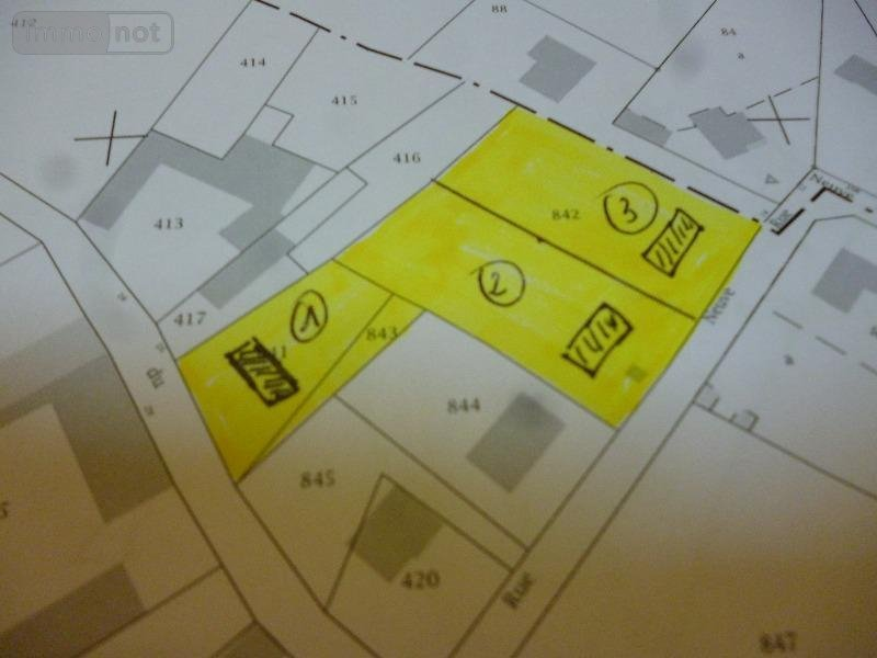 terrain batir vendre barastre 62124 pas de calais 2942 m2 94072 euros