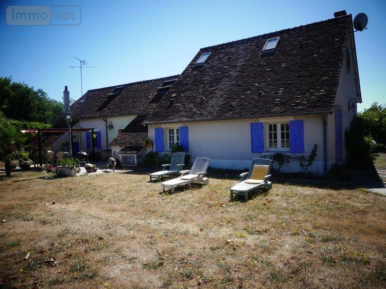 Maison A Vendre Lorris 45260 Loiret 6 Pieces 130 M2 A 200000 Euros